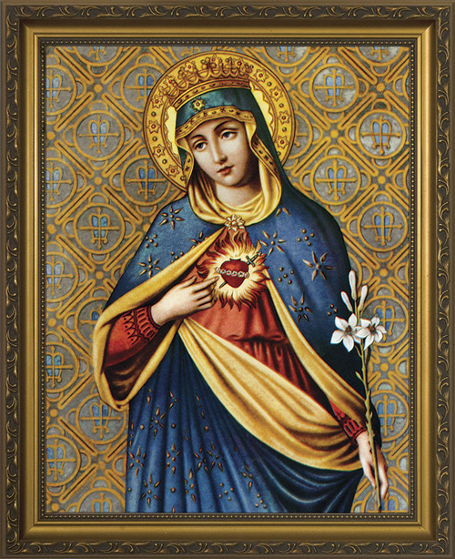 Immaculate Heart III Framed Art
