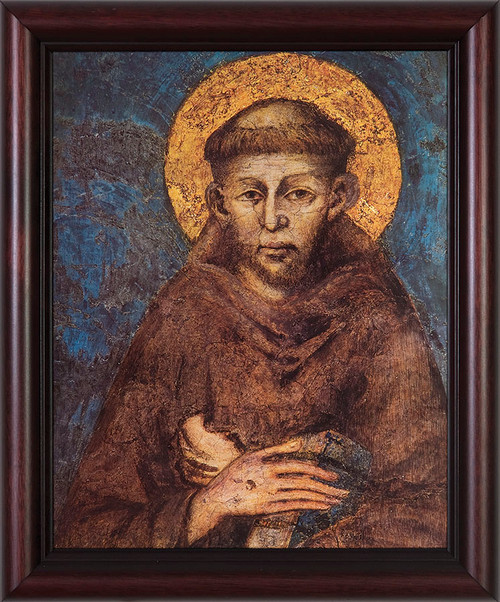 St. Francis by Cimabue Framed Art