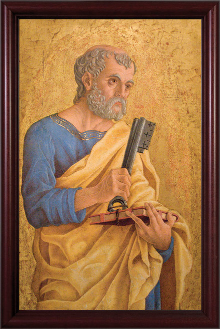 St. Peter with Keys Framed Art