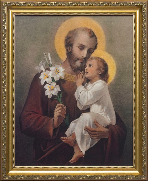 St. Joseph (Younger) Framed Art