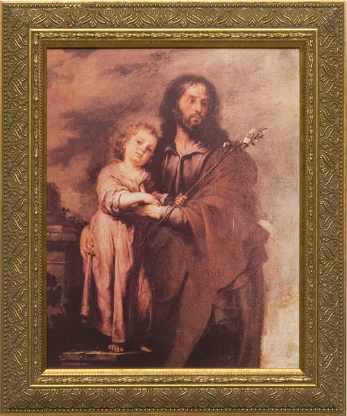 St. Joseph by Murillo Framed Art
