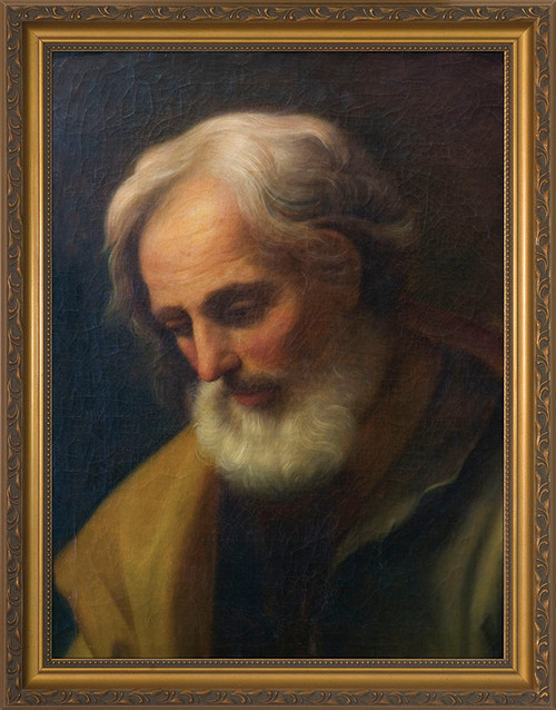 St. Joseph by Guido Reni Framed Art