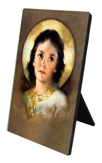 The Christ Child Vertical Desk Plaque