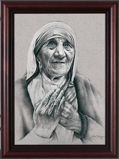 Mother Teresa by Lisa Brown Framed Art
