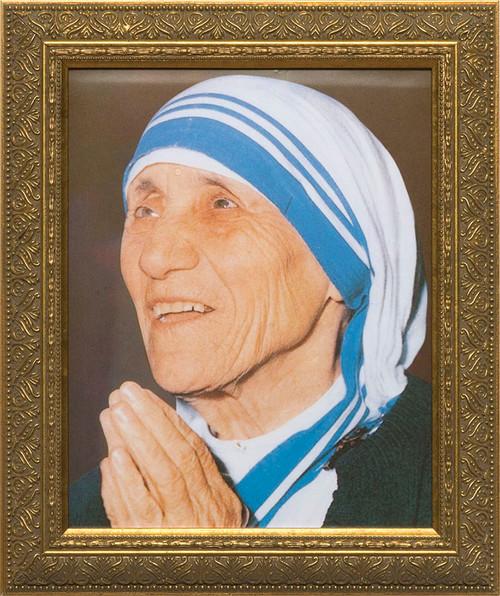 Mother Teresa Praying Framed Art
