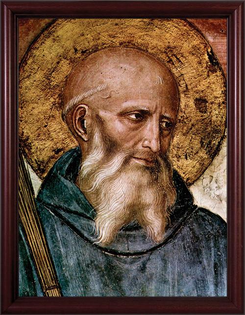 St. Benedict Framed Art