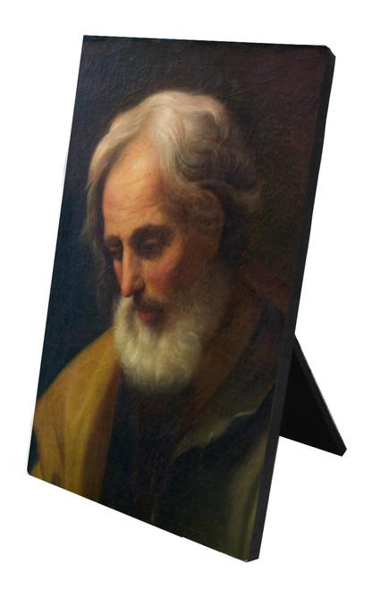 St. Joseph by Reni Vertical Desk Plaque