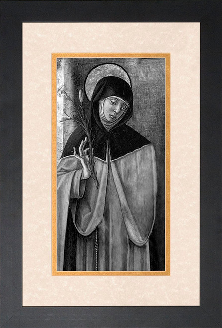 St. Catherine of Siena Framed Art