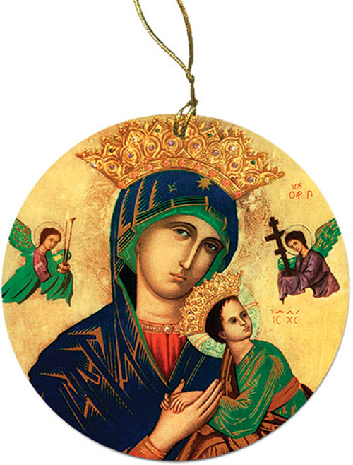 Mother of Perpetual Help Ornament