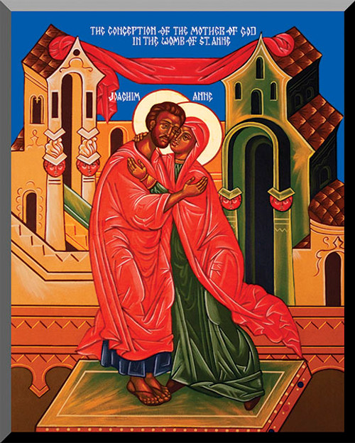 Sts. Joachim and Anne by Fr. Thomas Loya
