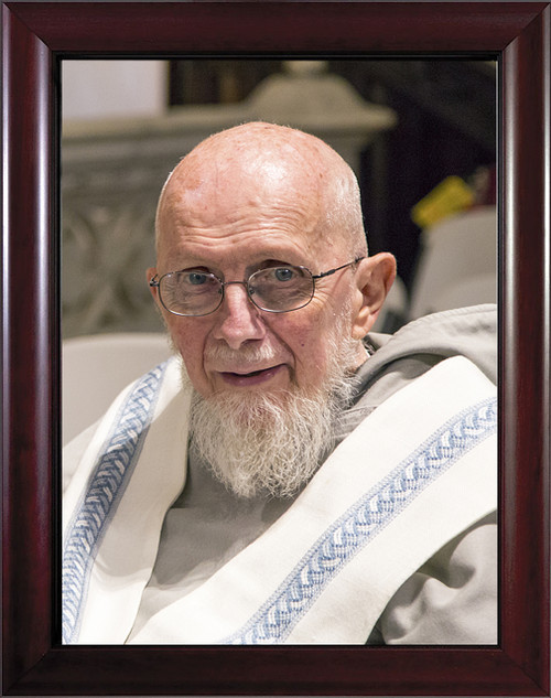 Fr. Benedict Groeschel Framed Portrait, color