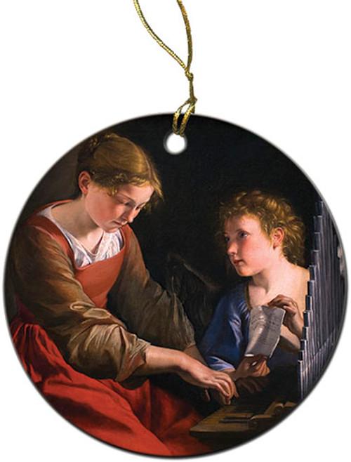 St. Cecilia Ornament