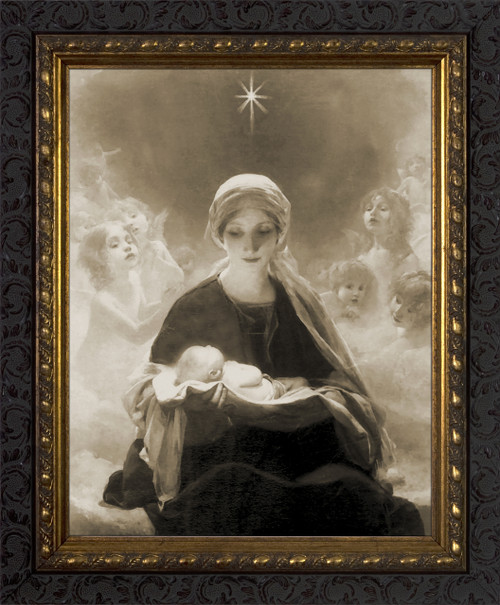 Star of Bethlehem by Bruno Piglhein Framed Art