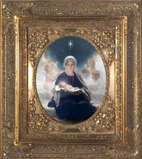 Star of Bethlehem - 8x10 Spandrel Framed Canvas