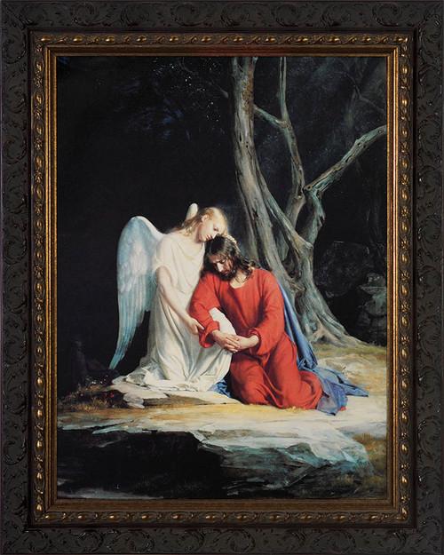 Gethsemane - Ornate Dark Framed Art
