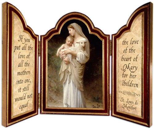 L'Innocence Triptych Plaque
