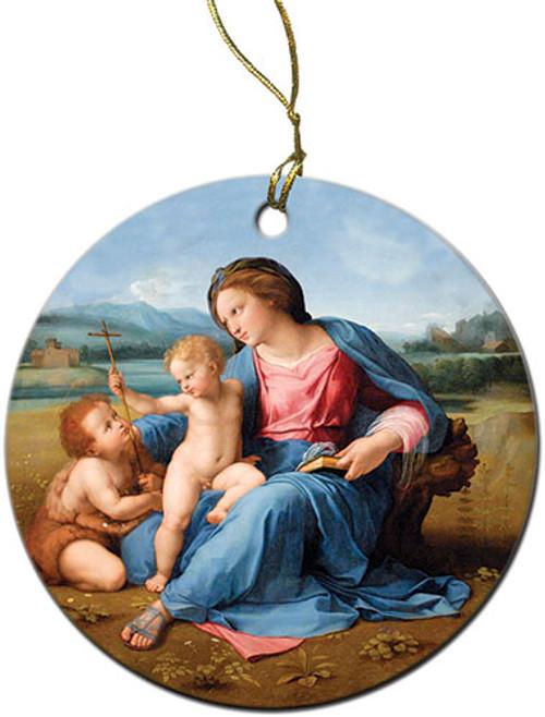 Alba Madonna Ornament