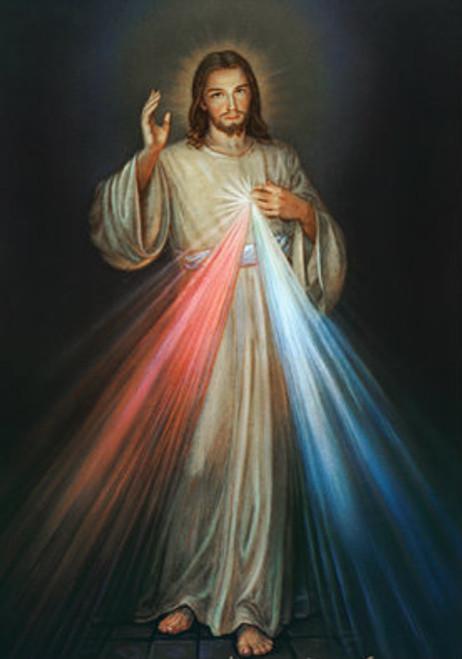 Divine Mercy 19x27 Print