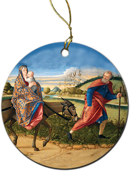 Flight into Egypt Ornament
