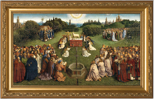 Altar of the Lamb Framed Art