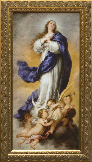 Immaculate Conception - Standard Gold Framed Art