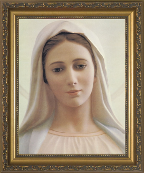 Our Lady of Medjugorje Framed Art