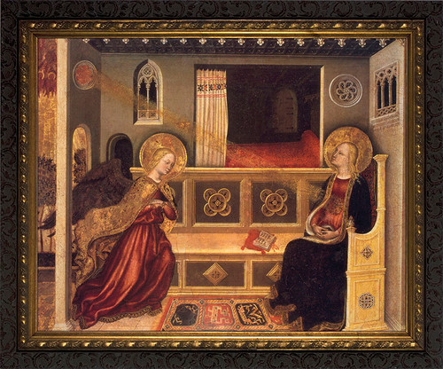Annunciation by Fabriano Framed Art