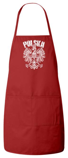 Polska Apron (Red)