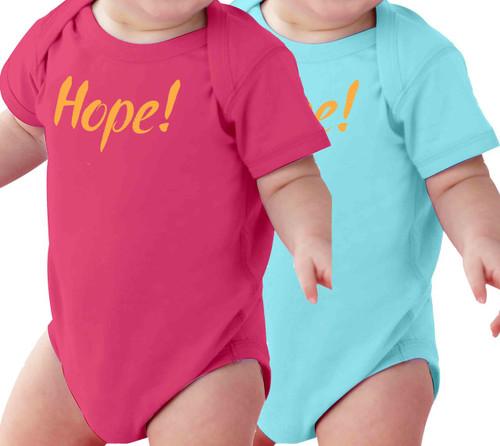 Hope! Baby Onesie
