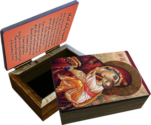 Icon of Mary Keepsake Box