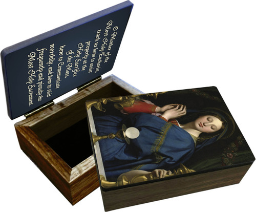 Madonna of the Host Keepsake Box