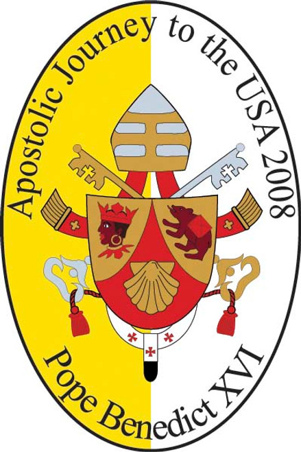 Pope Benedict XVI Apostolic Journey Bumpersticker