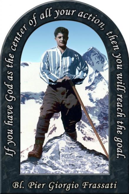 Bl. Pier Giorgio Prayer Arched Magnet