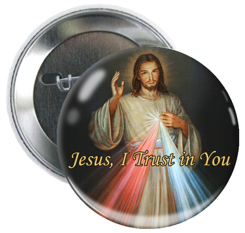 Divine Mercy Button