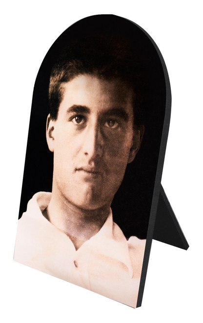Bl. Pier Giorgio Frassati Arched Desk Plaque