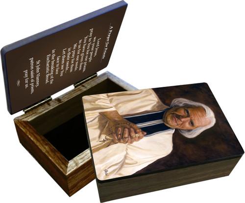 St. John Vianney Keepsake Box