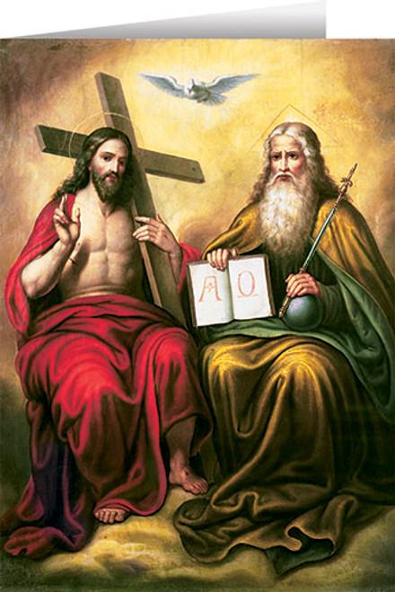 The Holy Trinity Greeting Card