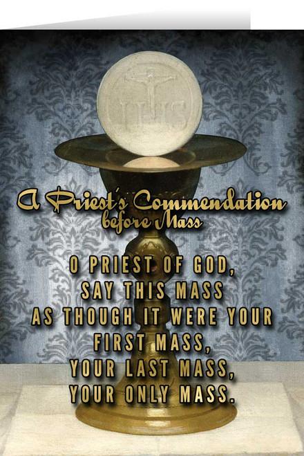 Celebration of the Mass Ordination Greeting Card