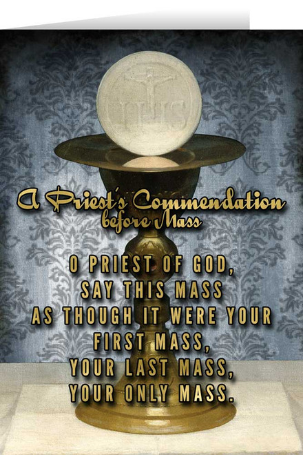 Celebration of the Mass Ordination Greeting Card