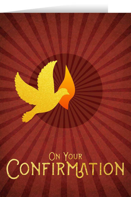 On Your Confirmation Greeting Card