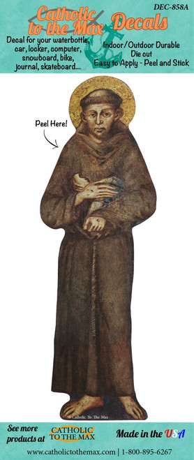 St. Francis Decal
