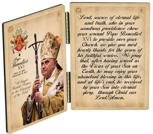 Pope Benedict Commemorative Diptych