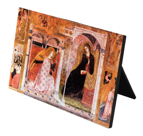 The Annunciation Horizontal Desk Plaque
