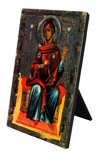 Annunciation Icon (Madonna) Vertical Desk Plaque