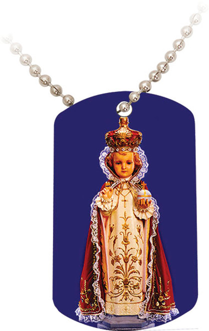 Infant of Prague Dog Tag