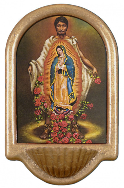 St. Juan Diego Holy Water Font