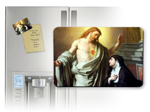 St. Margaret Mary Alacoque Magnet