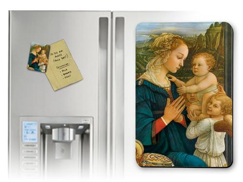 Virgin in Adoration Magnet