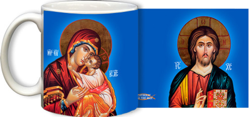 Holy Family Icon Mug