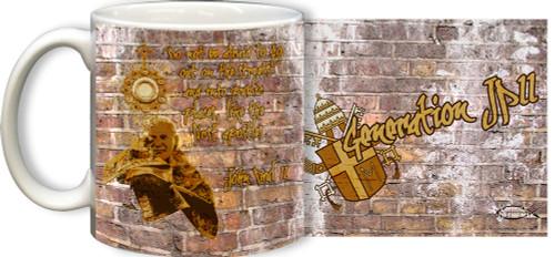 Generation JPII Mug Brick